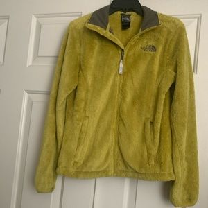 The North Face Fleece Jacket Lime/Yellow Sz: XS